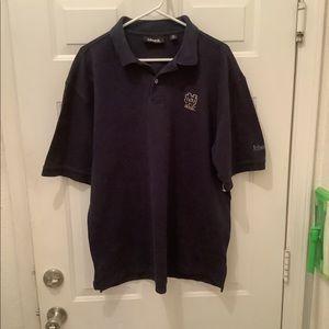Men's XL Ashworth college shirt Norte Dame